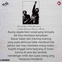 Surat dari Che Guevara, untuk kawan-kawan Muda !
