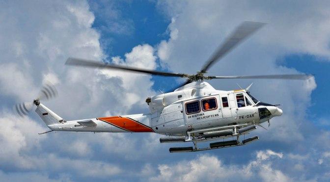 Mendarat darurat, lokasi helikopter pengangkut logistik belum diketahui