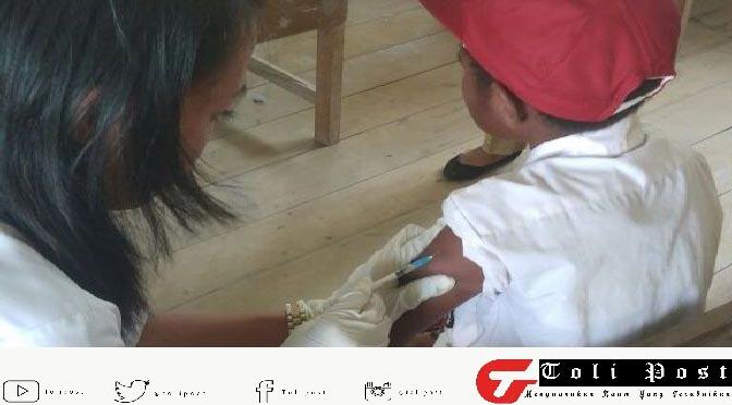 Anak anak Tolikara Apatis Pemberian Imunisasi Faksin Campak Murbila Dan Rubela
